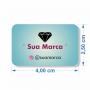 Tags para Brincos Personalizados Simples - 4x2,5 cm
