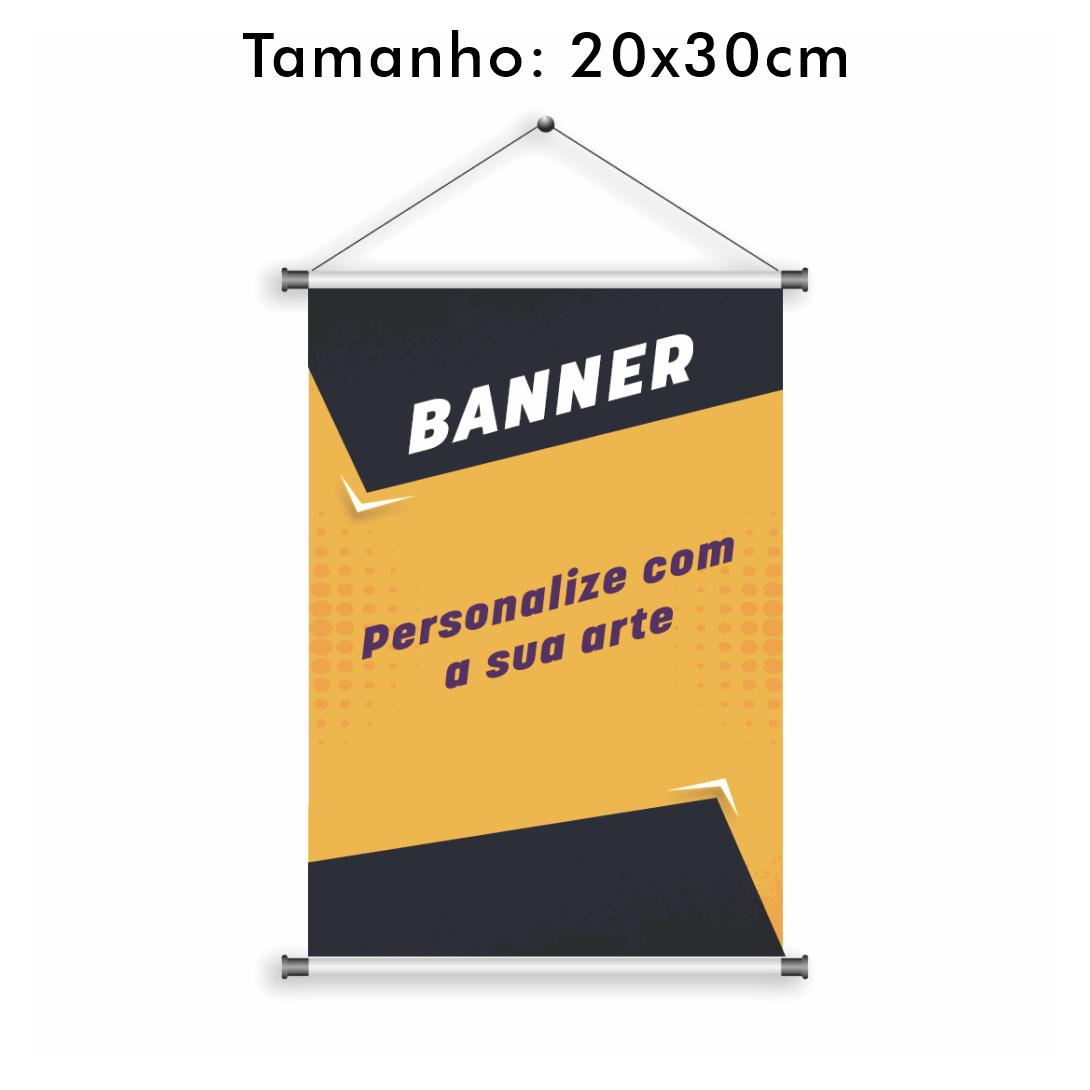 Banner Personalizado 20x30cm