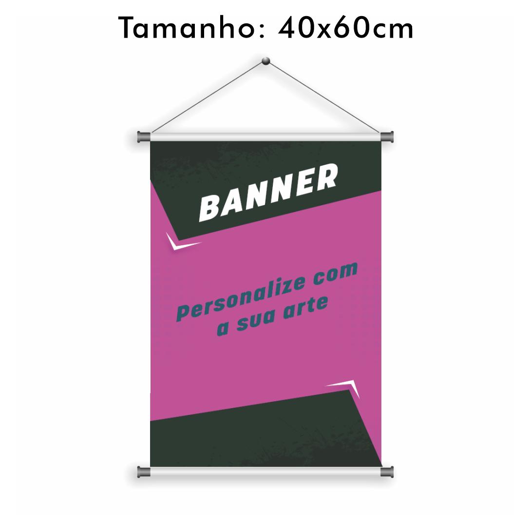 Banner Personalizado 40x60cm