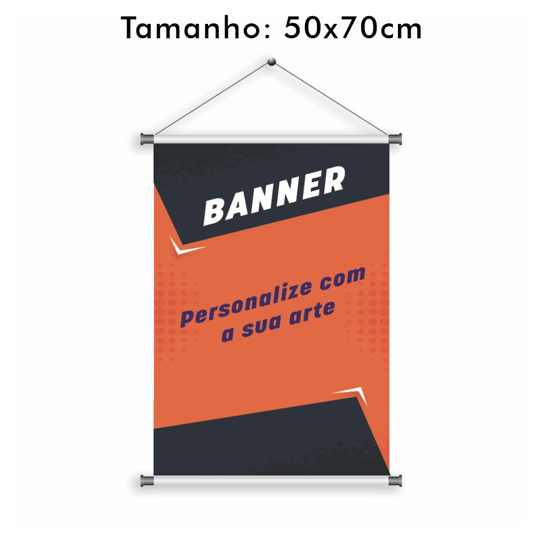Banner Personalizado 50x70cm