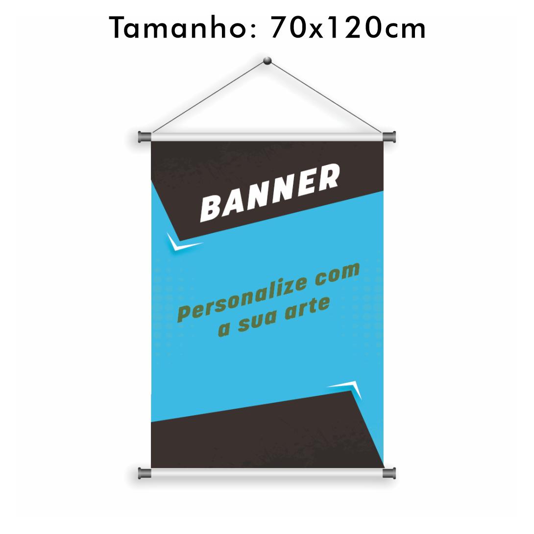 Banner Personalizado 70x120cm