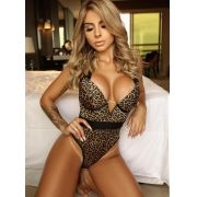 Body Animal Print Tassia