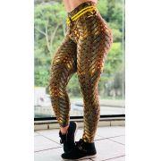 Calça Legging Empina Bumbum Iron Gold
