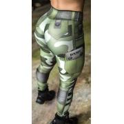 Legging Camuflada Jungle Soldier