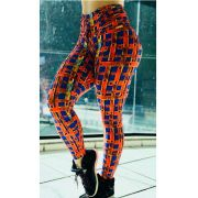 LEGGING ORANGE CÓS DRAPEAD