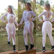Macacão Lolla Branco