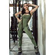 Macacão Verde Fitness Myriad