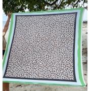 Pareo Animal Print Verde