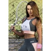 TOP OXYFIT CROPPED ROSE