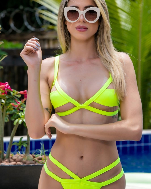 Biquíni Ibiza Amarelo Limão Neon