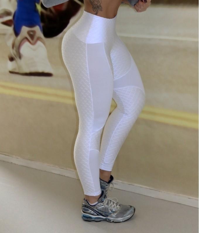 Calça Legging Gavião Branca