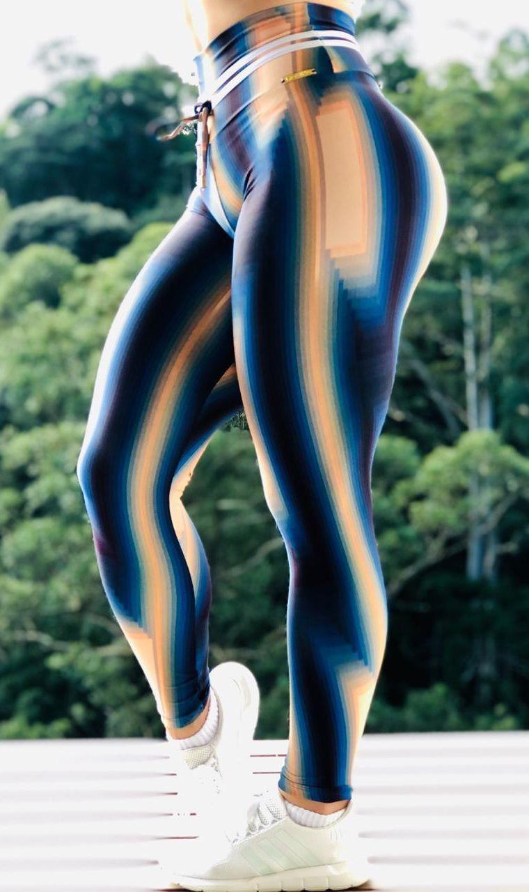Calça Legging Pamela Blue