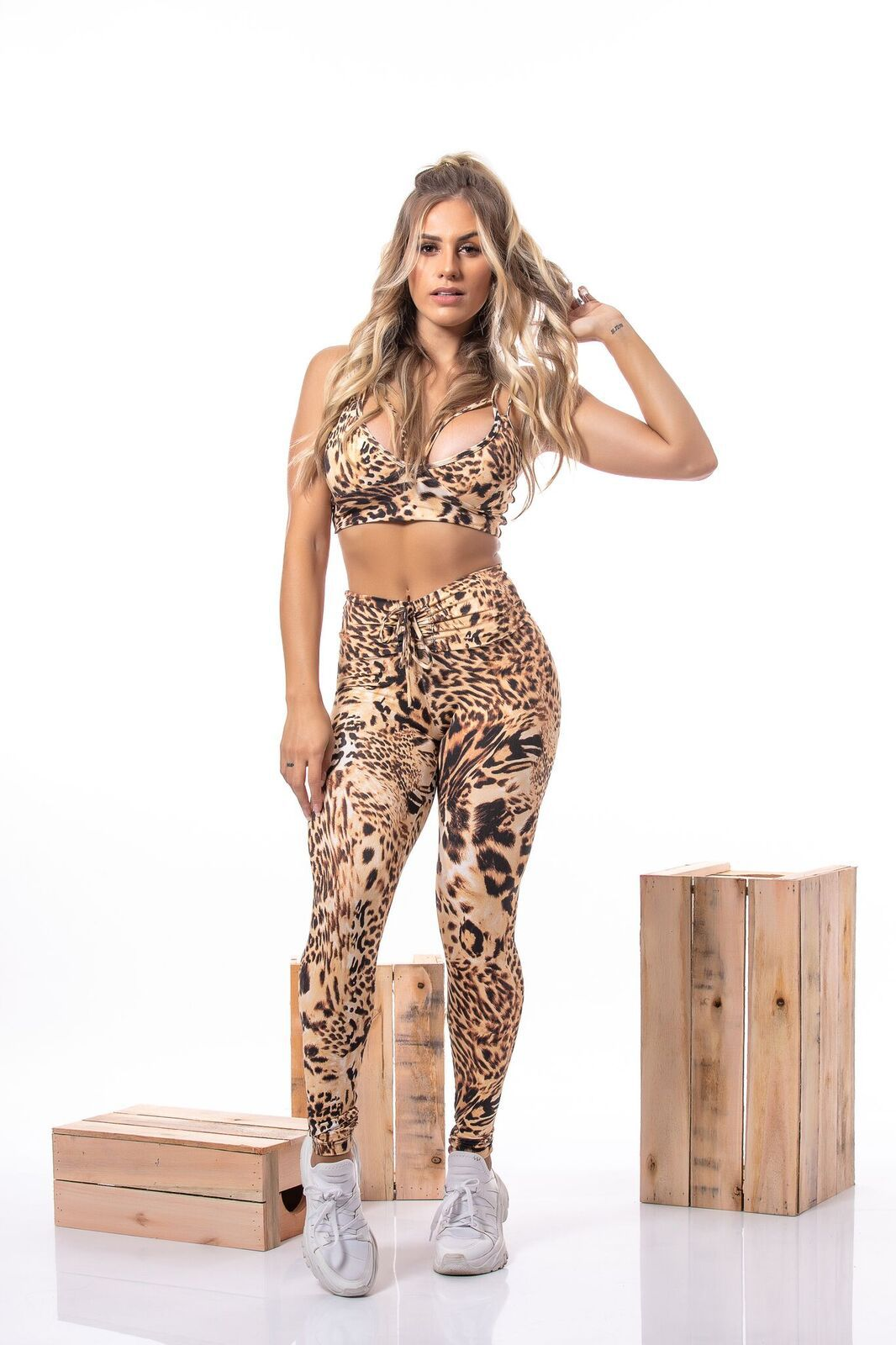 CONJUNTO ANIMAL PRINT JAGUAR TWO