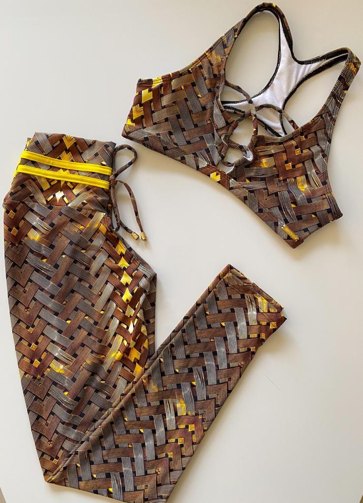 Conjunto Empina Bumbum Iron Gold
