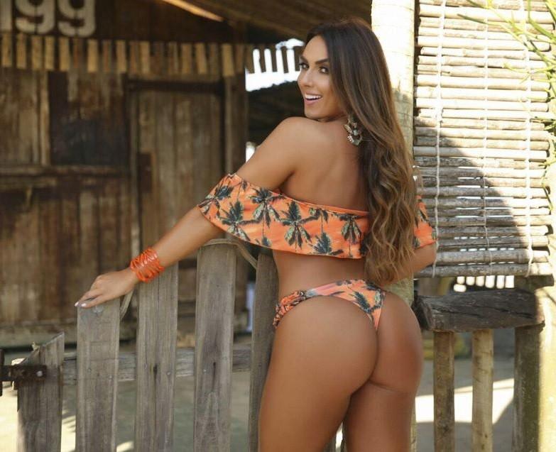 CONJUNTO CROPPED CIGANINHA COQUEIRO