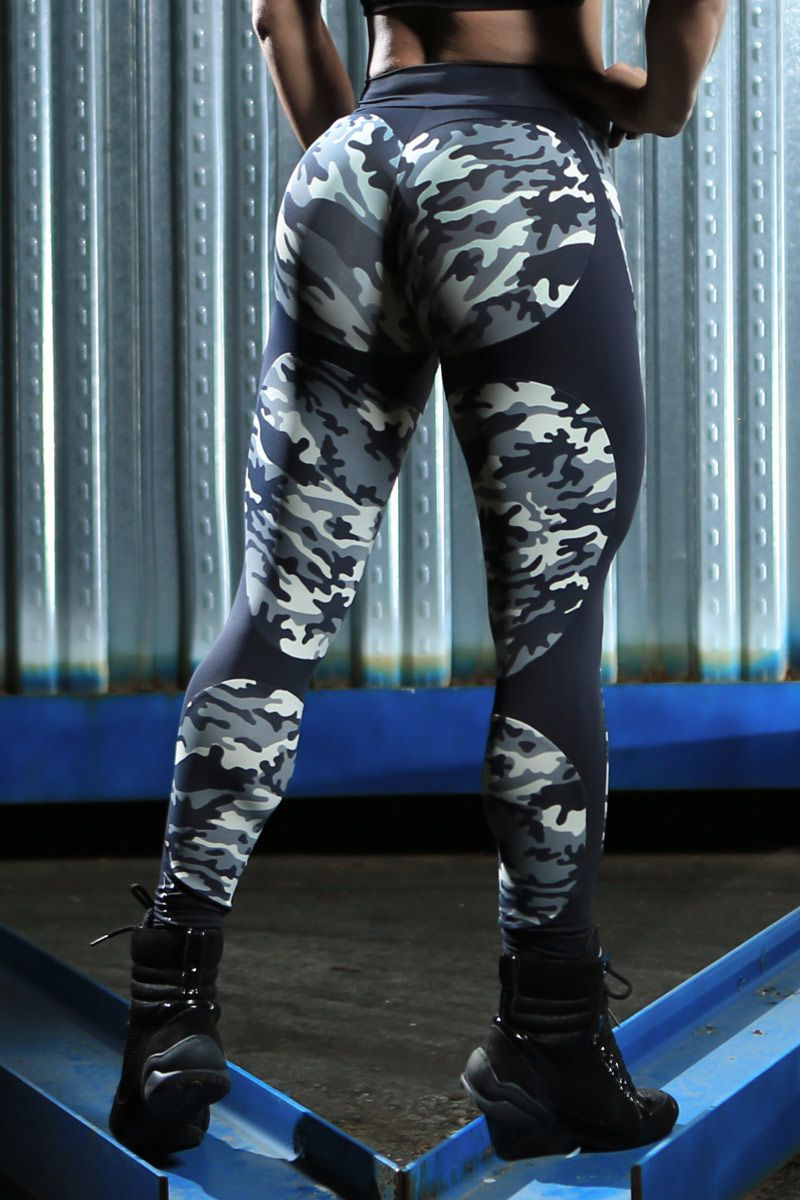 Legging Camuflada Apple Booty
