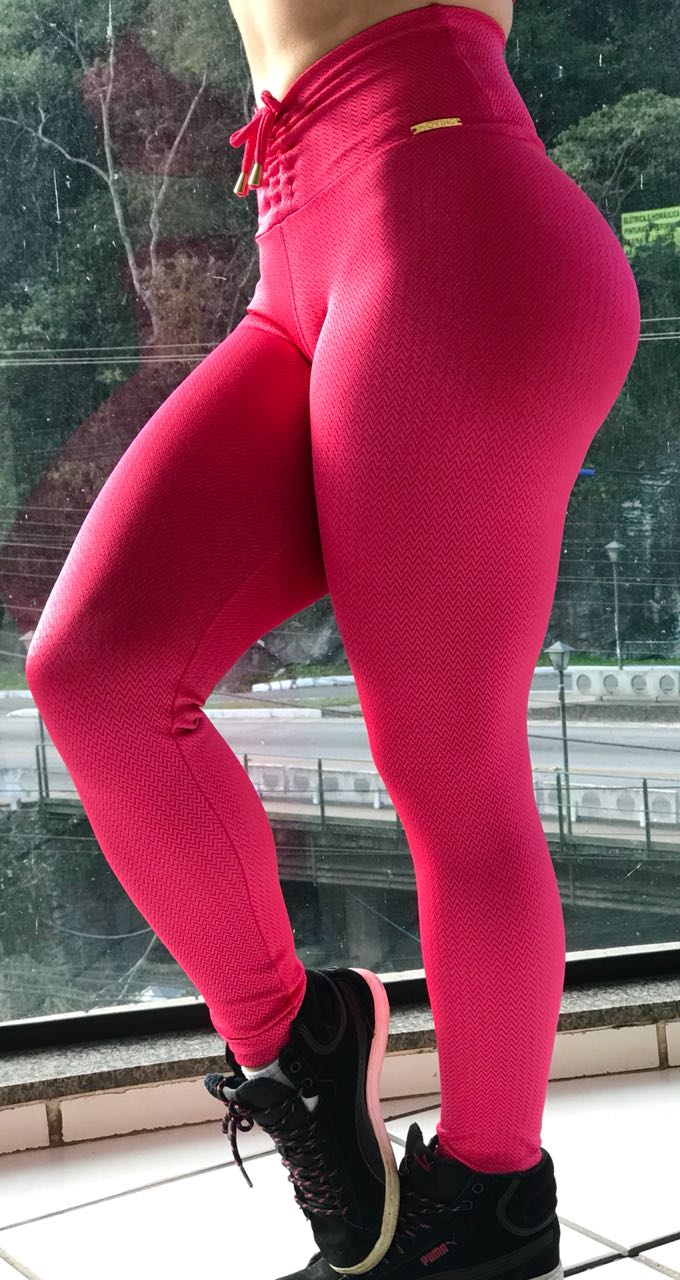 LEGGING BRIGHT PINK