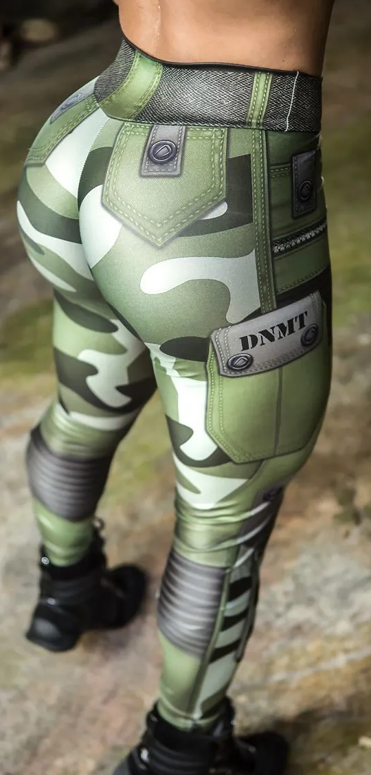 Legging Camuflada Jungle Soldier