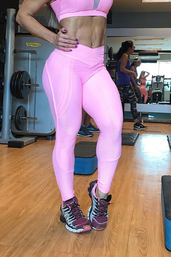 Legging Empina Bumbum Rosa