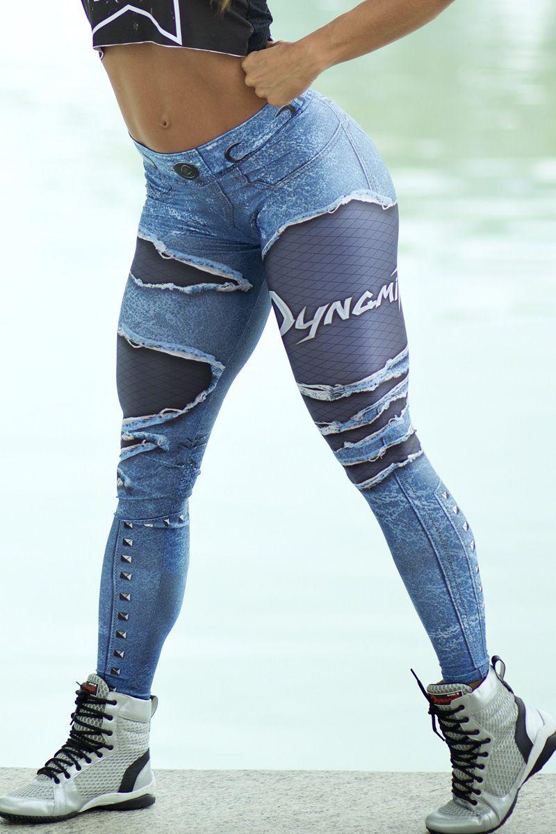 Legging Fake Jeans Placebo Denim