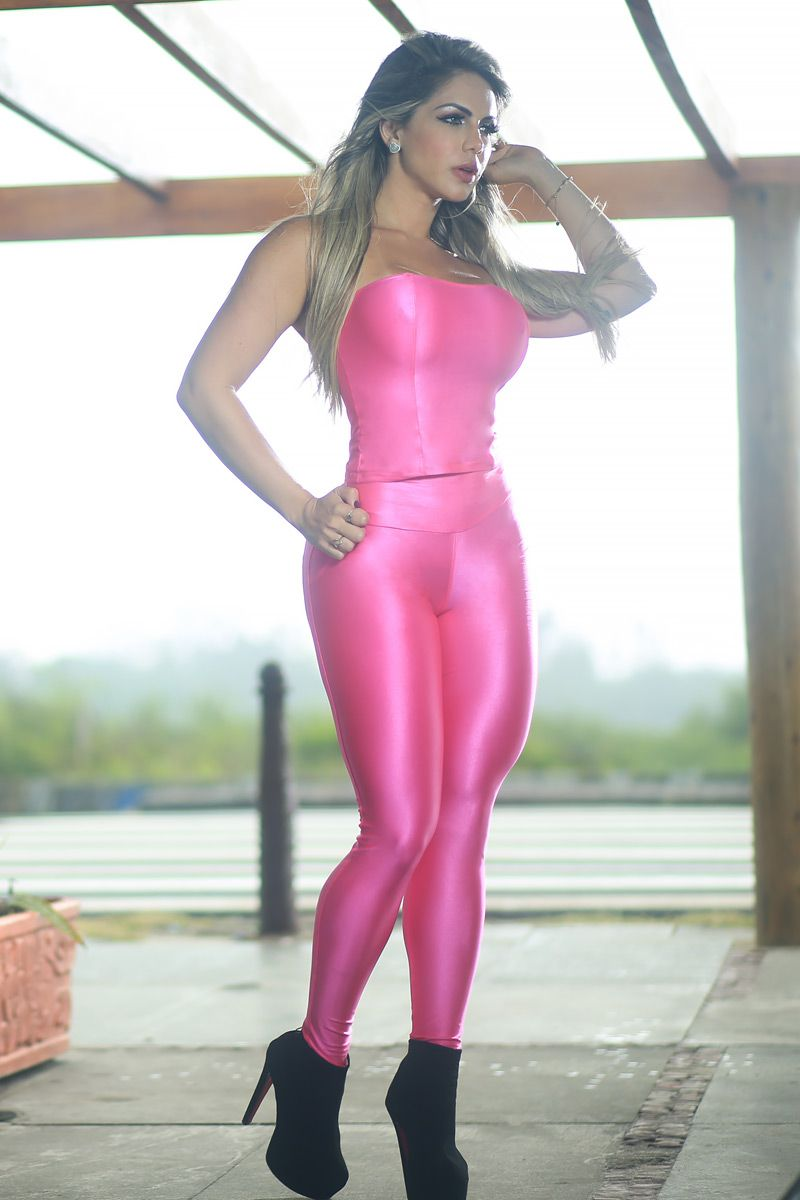 LEGGING PUSHUP ROSA