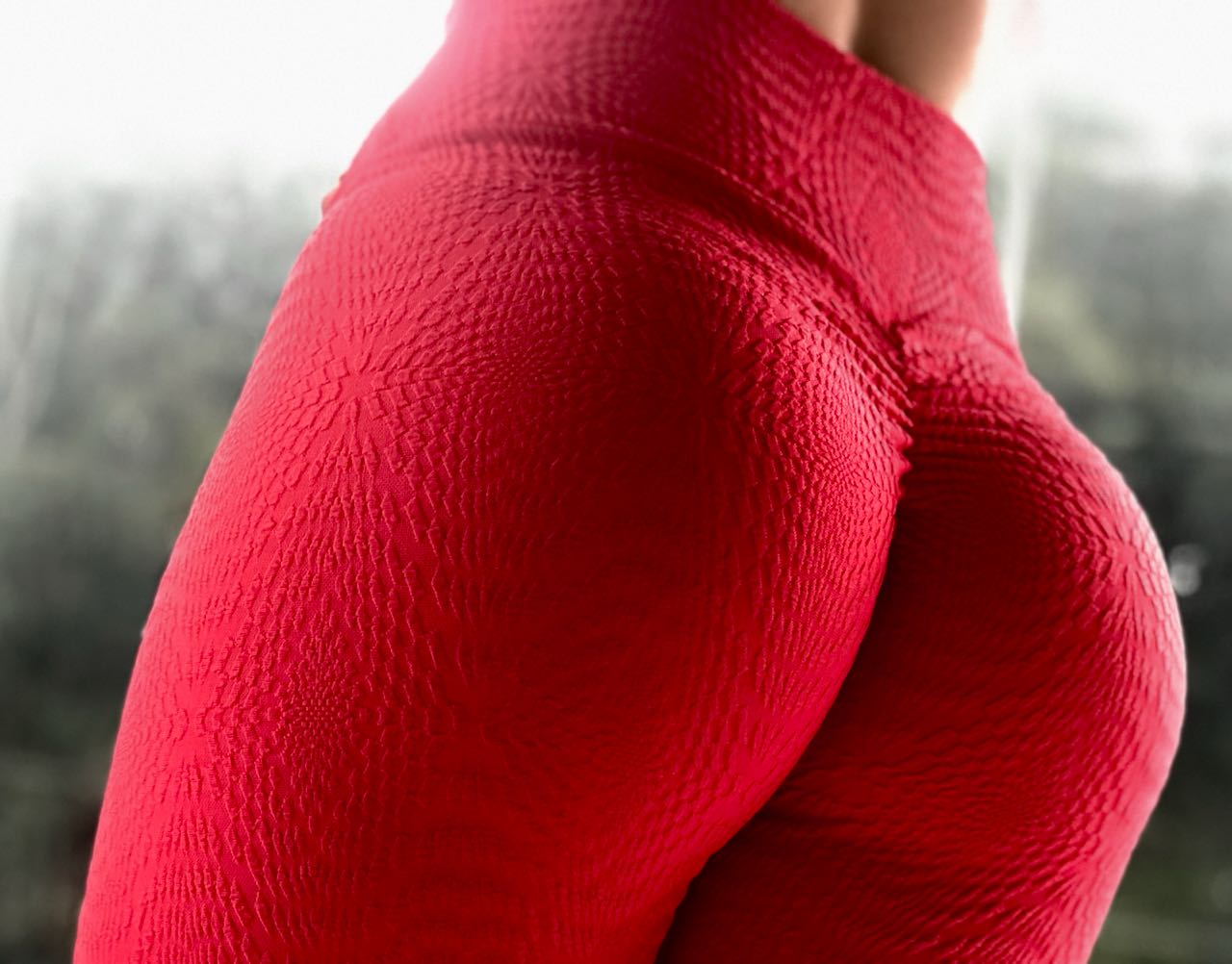 LEGGING RED DETAIL BUMBUM FRANZIR