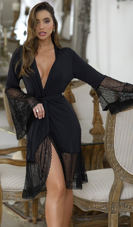 Robe Paris Black