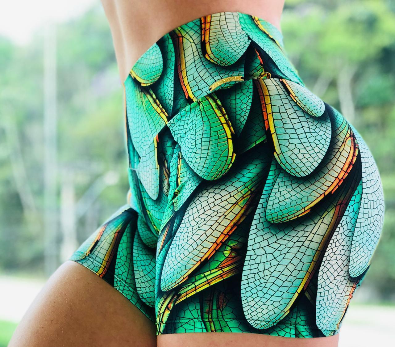 Short Bumbum Franzir 3D Green