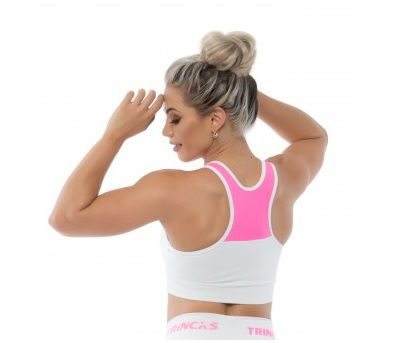 TOP OVER BOL WHITE PINK