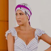 Turbante Feminino Dupla Face Vicky Celina