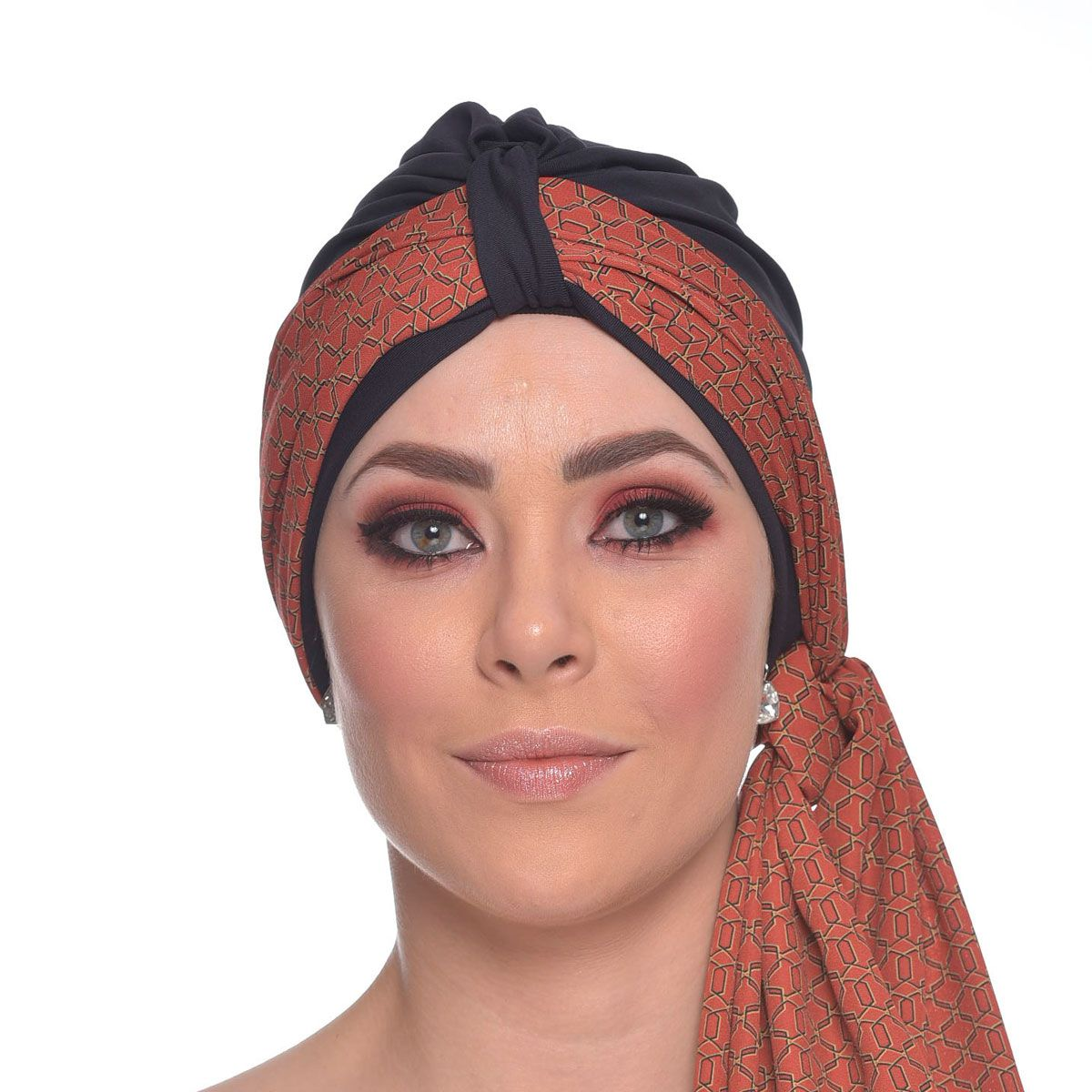Echarpe 40X180 Mousseline de Seda Yasmim