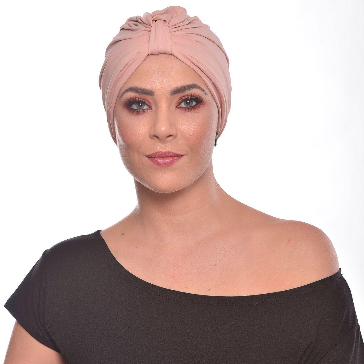 Turbante Fechado Argola Petit Rosê