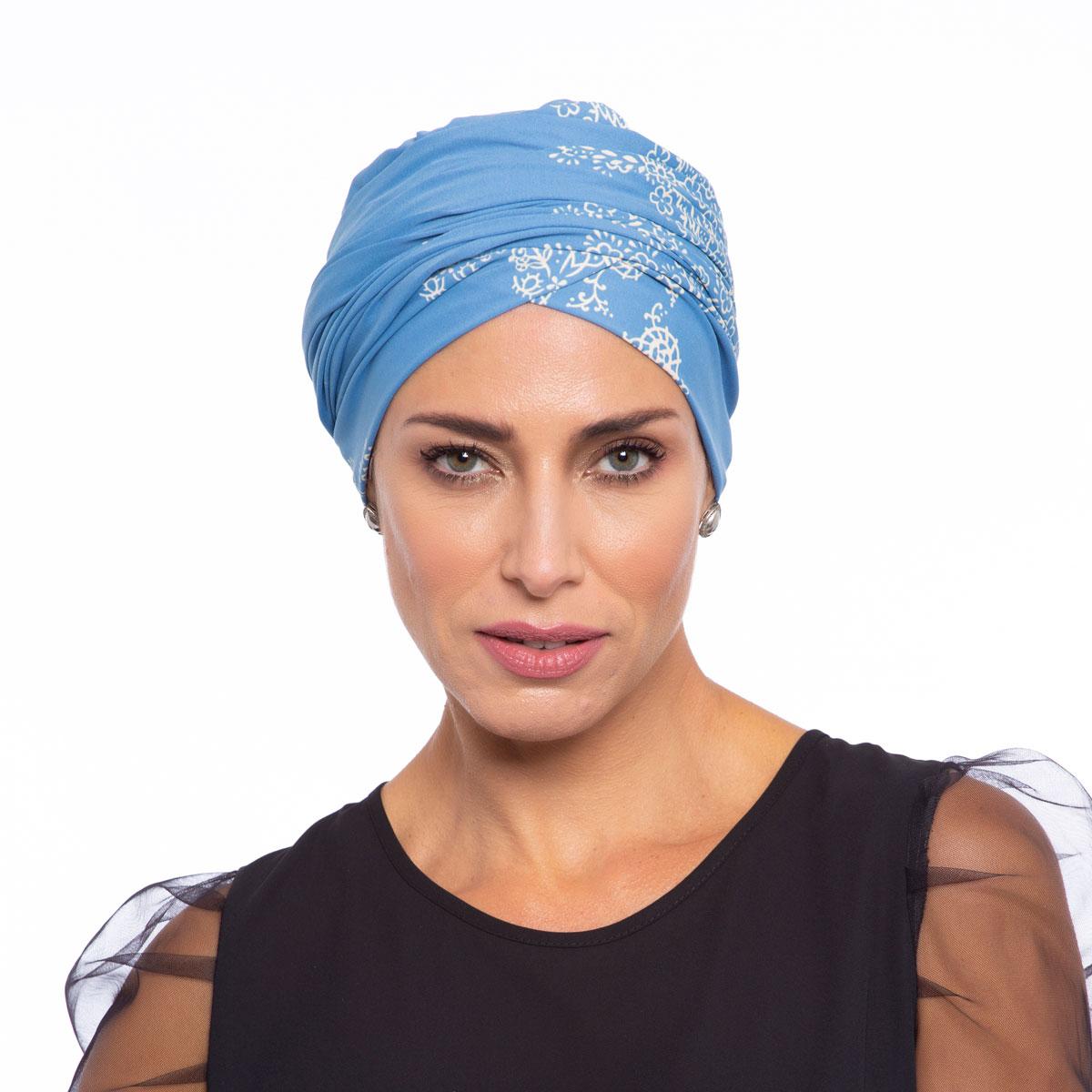 Turbante Feminino Aisha Estampa Hellen