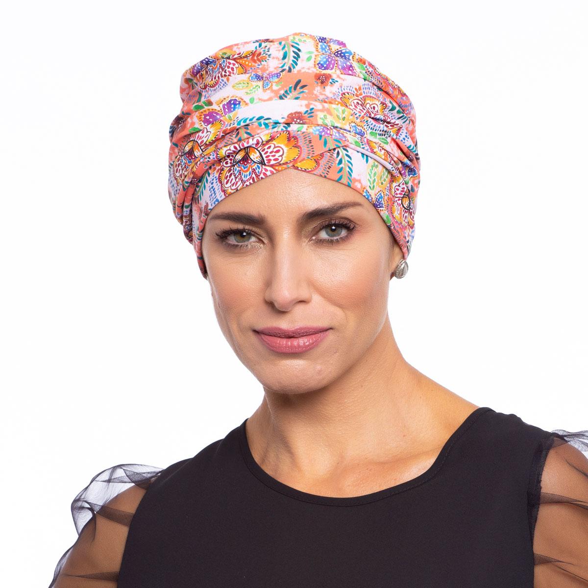 Turbante Feminino Aisha Estampa Stefani