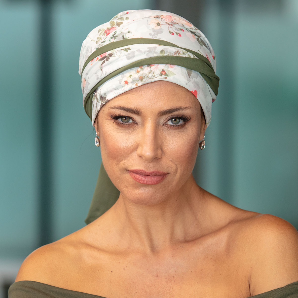 Turbante Feminino Dupla Face Vicky Daniele