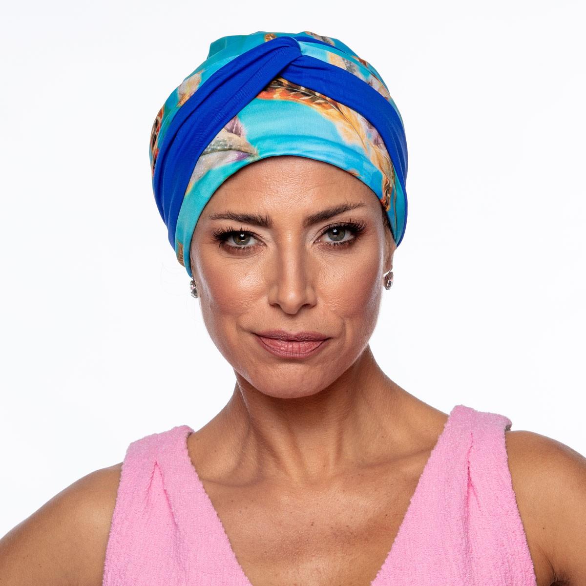 Turbante Feminino Dupla Face Vicky Mariana