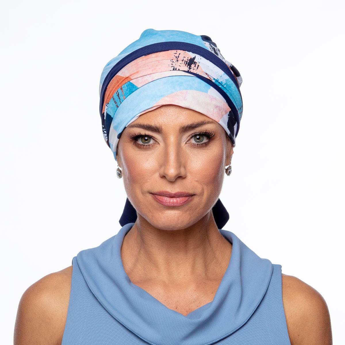 Turbante Feminino Dupla Face Vicky Milena