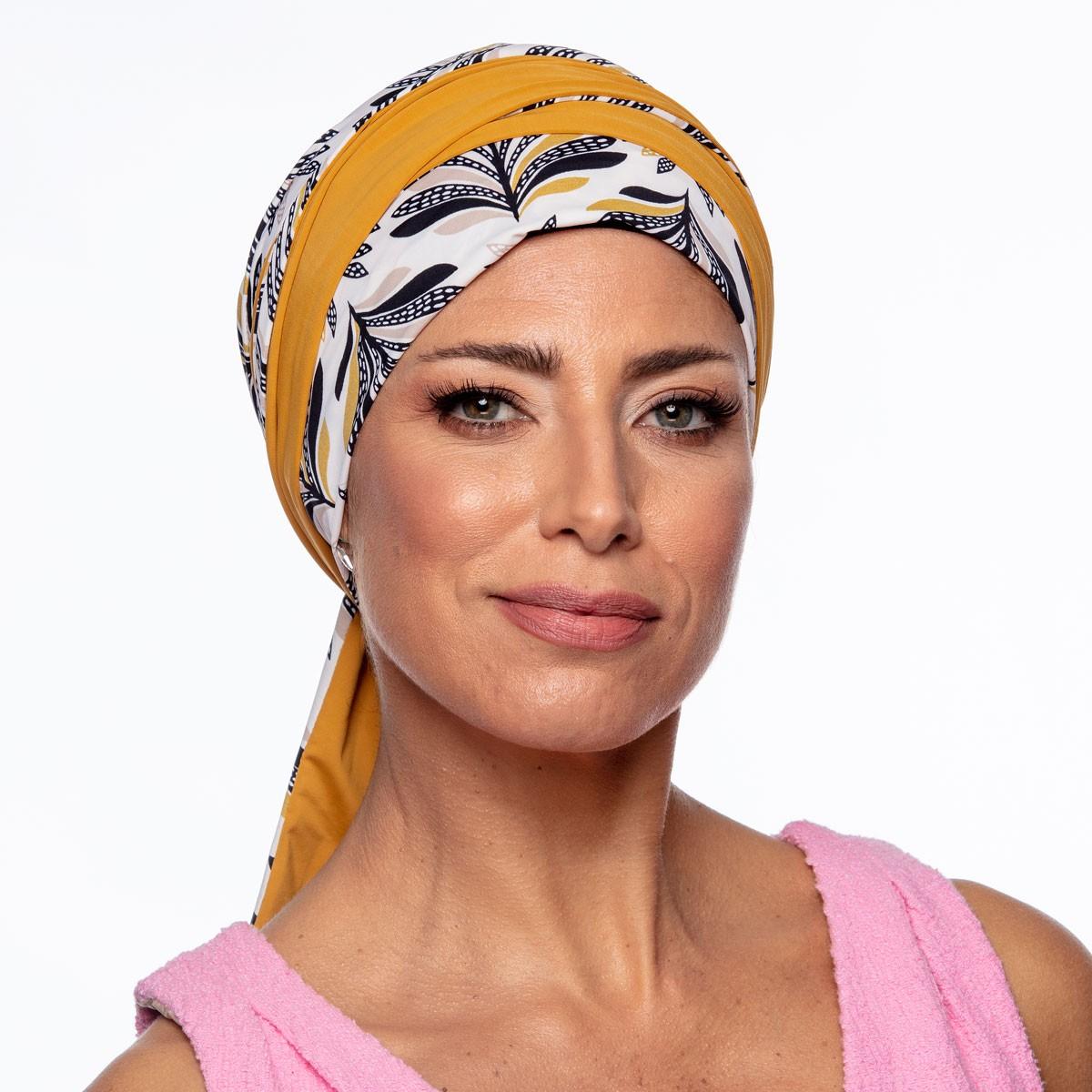 Turbante Feminino Dupla Face Vicky Sabrina