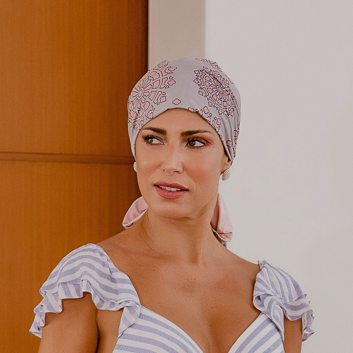 Turbante Feminino Dupla Face Vicky Tarsila