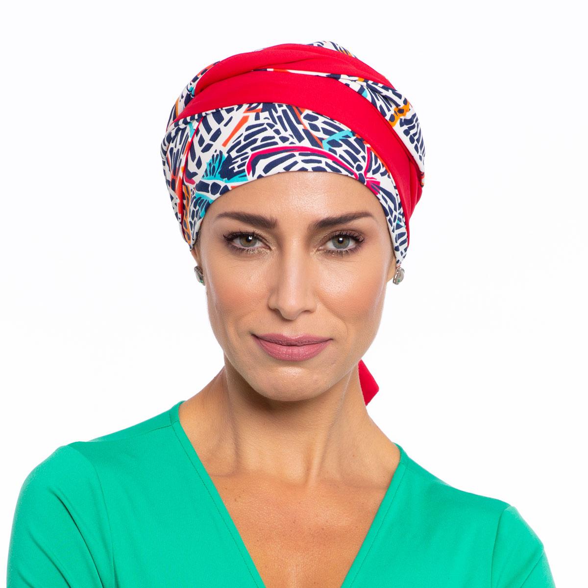 Turbante Feminino Dupla Face Vicky Yasmim