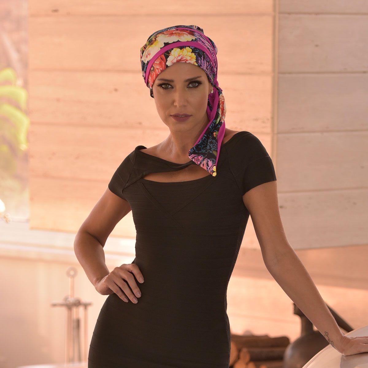 Turbante Feminino Vicky Estampa Alessandra