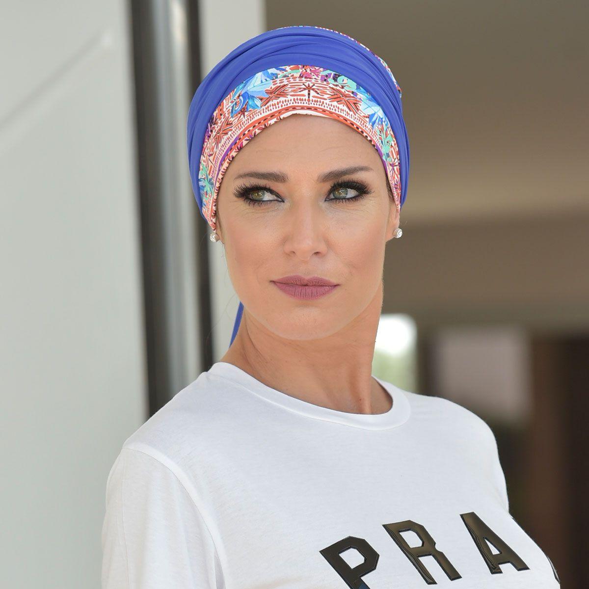 Turbante Feminino Vicky Estampa Jordana