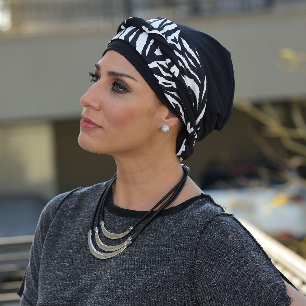 Turbante Feminino Dupla Face Vicky Paloma
