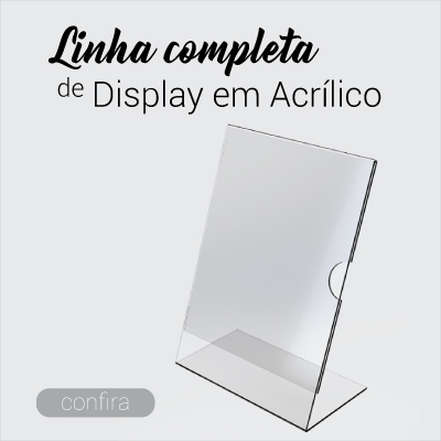 Display de Acrílico