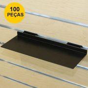 Kit Expositor de Calçado em Acrílico Preto - 100 Peças