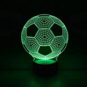 Luminária 3D - Bola de Futebol