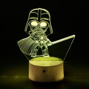 Luminária 3D - Miniatura Darth Vader