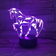 Luminária 3D –  Cavalo