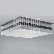 Luminária Plafon em Acrílico Modelo Abante 50X50X8,3cm