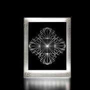 Moldura Decorativa Led - Formas Geométricas